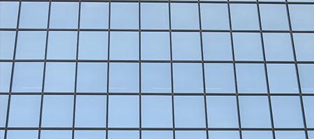 Gevelbekleding glas