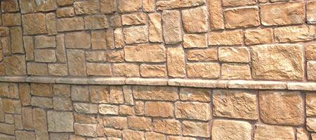 Gevelbekleding natuursteen Houten